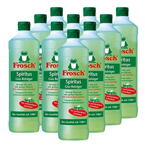 Frosch Spiritus Glas Reiniger, 10er Pack (10 x 1 l)