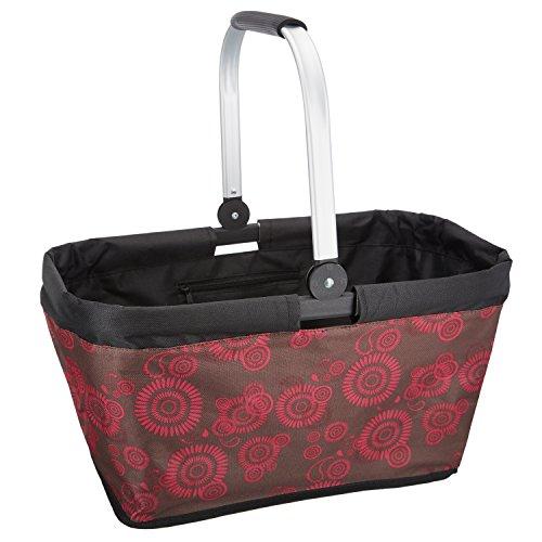 Dailydream® faltbare Einkaufstasche, Einkaufskorb mit komfortablem Henkel, Größe L