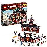 LEGO Ninjago - Monasterio del Spinjitzu, juguete creativo e imaginativo de construcción con templo...