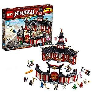 LEGO NINJAGO IlMonasteroSpinjitzu, Set di Costruzioni con Minifigure da Collezione Ninja, 70670 LEGO