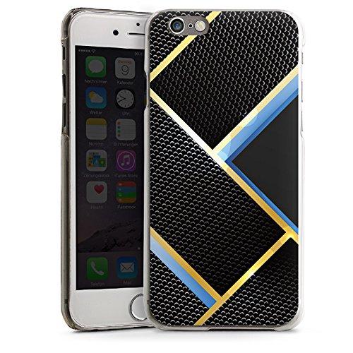 Apple iPhone 5s Housse Outdoor Étui militaire Coque Motif Motif Noir bleu or carbone CasDur transparent