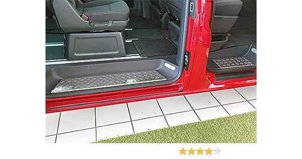 Wgs Alu Riffelblech Trittbretter Trittstufen Mit Abkantung Extra Robust 2056 506 Auto