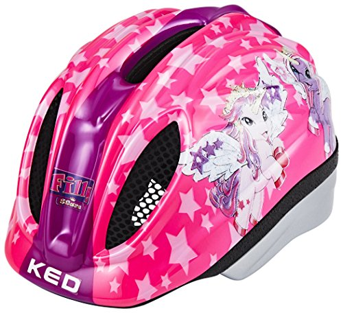 KED Meggy Originals Helmet Kids Filly Kopfumfang 49-55 cm 2017 mountainbike helm downhill (Kid-bike-helm-auto)