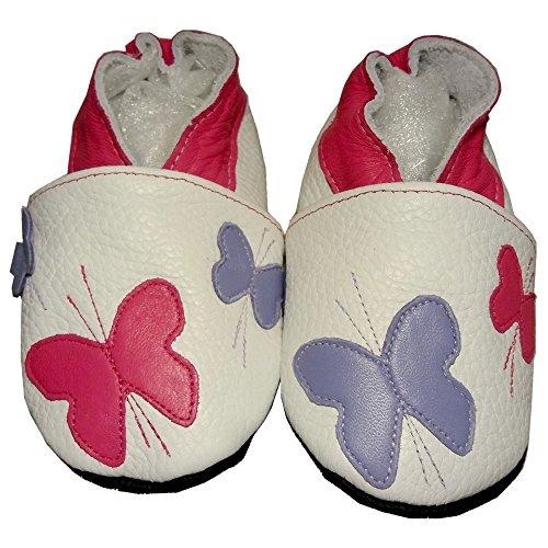 bbkdom, Jungen Babyschuhe - Krabbelschuhe & Puschen  weiß Pointures 24-25 (2 à 3 ans) weiß