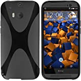 mumbi X-TPU Schutzhülle HTC One M8 / M8s Hülle (keine Aussparung für Infrarot)