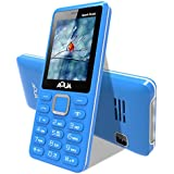 Aqua Spark Music 3000 mAh Battery Dual Sim Basic Mobile Phone - Blue