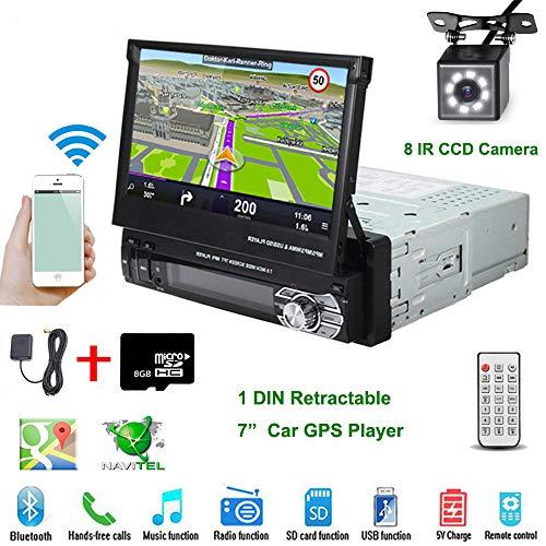 Car Stereo - in-Dash Single DIN 7