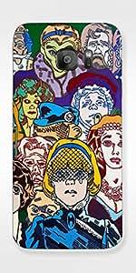 SEI HEI KI Designer Back Cover For Samsung Galaxy S7 Edge - G935 - Multicolor