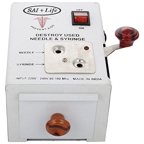 Sai Life Sai Life Electronic Needle & Syringe Destroyer