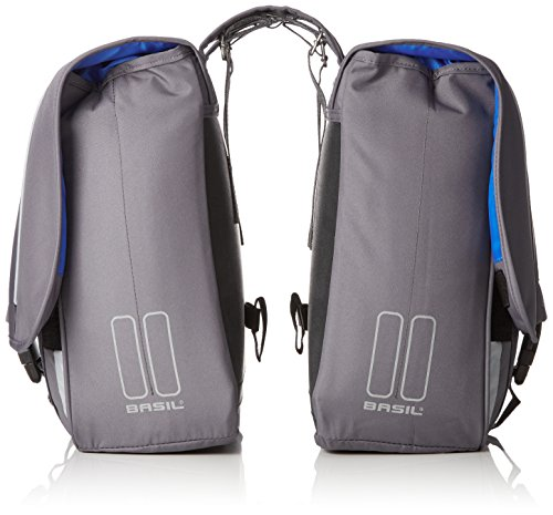 "BASIL Doppelpackstasche ""Sport Design"" grau Grey"