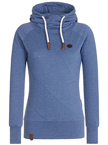 Naketano Mandy X W sweat à capuche blue melange
