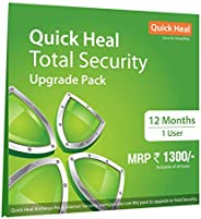 Quick Heal Total Security Renewal Upgrade Silver Pack - 1 User, 1 Year (DVD) (existing Quick Heal subscription