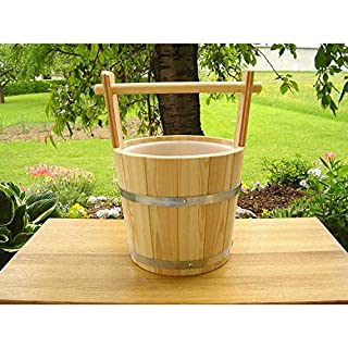 Achleitner Sauna Infusion Bucket Larch 5 Liter with Carrying Handle 759