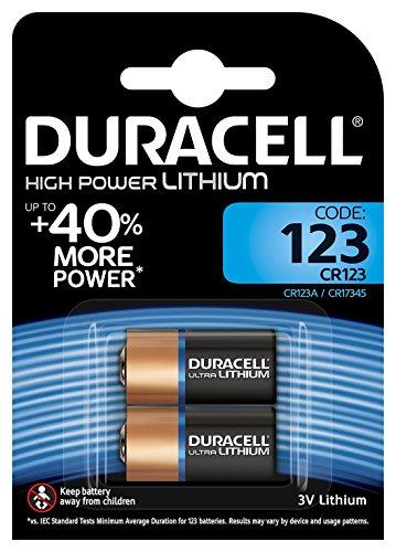 Cr123a 123 (Duracell Ultra 123 - Kamerabatterie 2 x CR123A Li)