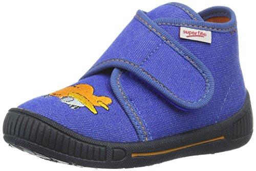 Superfit BULLY, Pantofole Bambino Blu (Blau (BLUET 84))