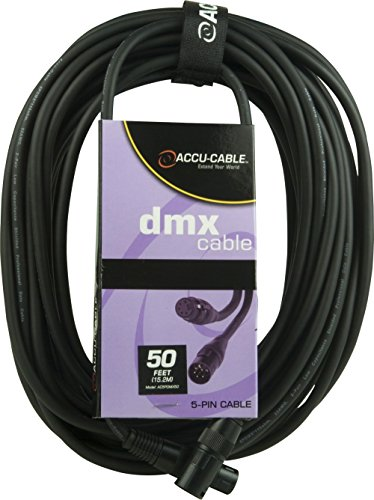 ACCU CABLE   CABLE DMX (5 PINES  15 M)