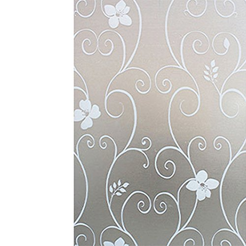 flower-vine-frosted-decorative-glass-window-film-privacy-bathroom-room-stickers-45-x-200cm