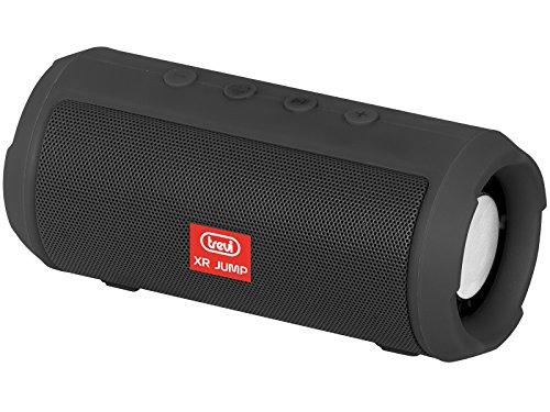 Trevi xr jump xr 84 bt altoparlante amplificato portatile con mp3, radio, usb, bluetooth e batteria integrata, nero
