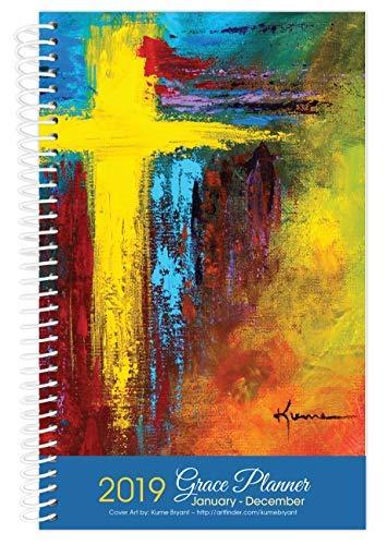 Cross Art inspirierender christlicher Tageskalender Januar bis Dezember Jahresplaner Wochenkalender 2019 Calendar Year (January - December) (Cross Art Christian)