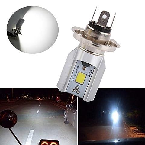 S&D H4 Led Motorcycle Headlight Bulbs COB Led 1000LM H/L Lamp Scooter ATV Moto Accessories Fog Lights 6000K Xenon