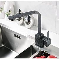 UHM Kitchen Sink ORB nero caldo e freddo 360 gradi