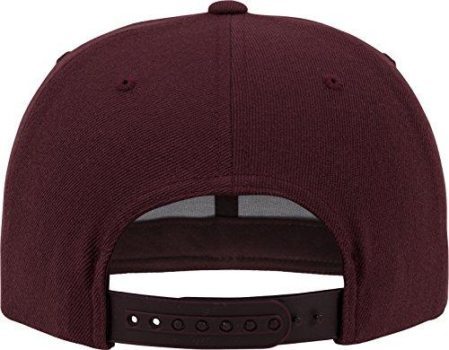 Imagen de flexfit tapa classic snapback, maroon, one size, 6089m alternativa