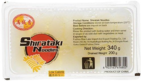 City Aroma Noodles Shirataki Skeins - Paquete 20 x