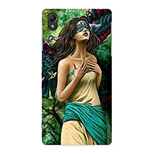 Stylish True Angel Multicolor Back Case Cover for Sony Xperia Z2