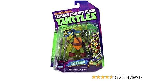 7b3be0c50 Teenage Mutant Ninja Turtles Action Figure Leonardo: Amazon.co.uk: Toys &  Games