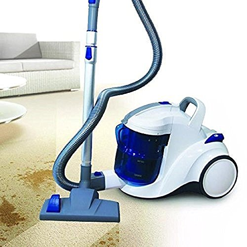Aqua Vacuum Jet für Allergiker Nass- und Trockensauger Staubsauger beutellos mit Wasserfilter & Hepafilter ZYKLON Bodenstaubsauger (mit Turbobürste)