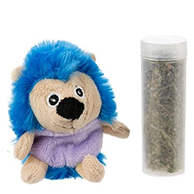 KONG Botanicals Refillable Lavender Catnip Hedgehog Cat Toy