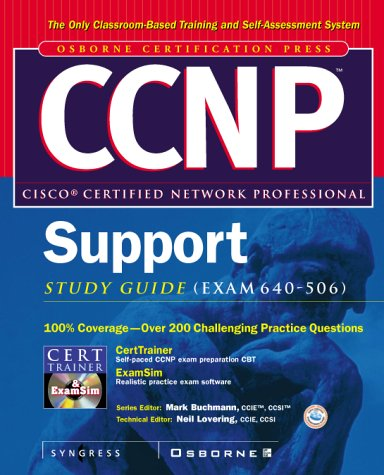 CCNP Cisco Internetworking Troubleshooting Study Guide (exam 640-506) (Certification Press) por Syngress Media  Inc.