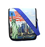 #9: Shopaholic Attractive Statue Of Liberty Printed Sling Bag For Kids To Carry Various Things