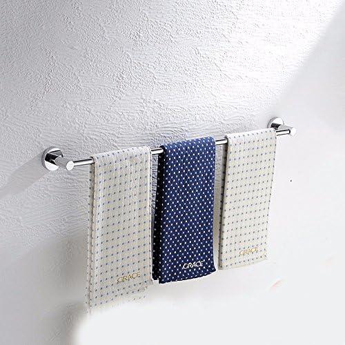 LHbox Tap Acciaio Inossidabile Portasalviette Estensione Leva Singola WC Doppia Barra di WC Singola Bagno Asciugamano Leva-,70cm 51aed6