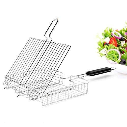 Zero fan griglia per griglia griglia elettrica per griglia griglia per barbecue grossa griglia per barbecue esterna portatile con coperchio rimovibile