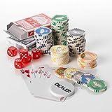 Neuf 11,5g Las Vegas Laser Argile 500jetons de poker de