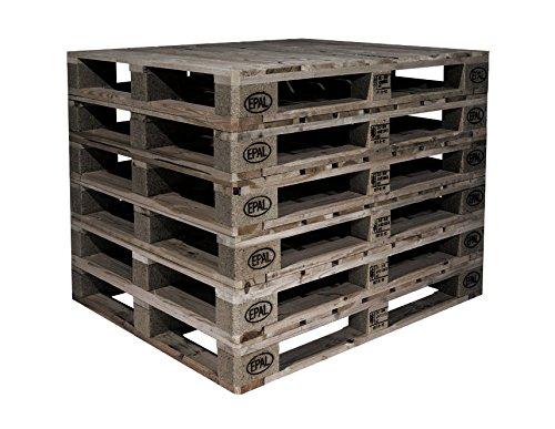 Europaletten Tauschpaletten Holzpaletten Holz Paletten Möbel Garten Palettenmöbel (10, 2.Wahl) (Paletten-holz-möbel)