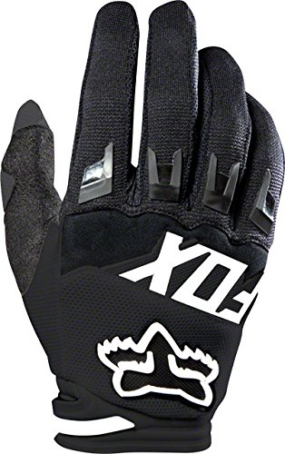 Fox Dirtpaw Race - Guantes, color negro, Talla L.