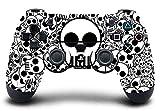 #5: Elton PS4 Controller Designer 3M Skin for Sony PlayStation 4 , PS4 Slim , Ps4 Pro DualShock Remote Wireless Controller - Skulls ( B&W ) , Skin for One Controller Only