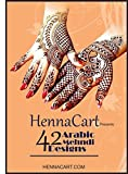 HENNA CART 42 Arabic Mehndi Designs for Hands,Temporary tattoo: Henna Designs