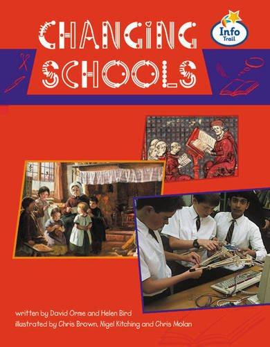 Changing schools Info Trail Fluent Book 3 (LITERACY LAND)