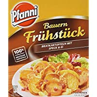 Pfanni Kartoffelfertiggericht Bauern Frühstück Bratkartoffeln, mit Speck und Ei 2 Portionen