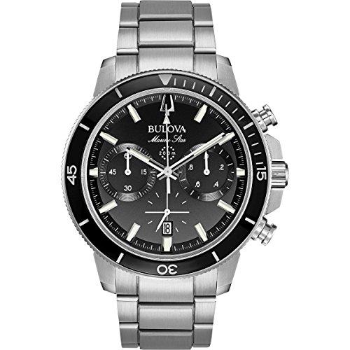 Reloj cronógrafo Bulova Marine Star 96B272 para Hombre