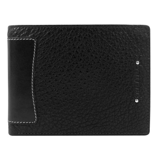 mano Arizona De Luxe Geldbörse Leder 12 cm schwarz