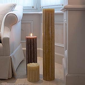 Säulenkerze ca. 30 cm hoch runde Kerze XL Kerze Deko Wohnaccessoires Geschenkartikel Besonderheit