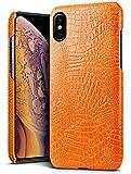 SLEO Coque pour iPhone XS Max(6.5 Pouces),Etui Housse Slim Modèle de Texture...