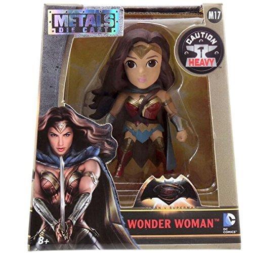 DC 97709 4-Inch Batman Vs Superman Wave 2 Wonder Woman with Cape Movie Figure by ()