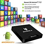 Android-TV-Box-2018-Dernire-Maxesla-MAX-S-II-Android-71-Systme-2GB-RAM-16GB-eMMC-Quad-Core-64Bits-CPU-Amlogic-S905W-Support-Rel-4K2K-WIFI-24Ghz-Smart-TV-Box