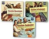 """Geniales Trio"": Geniale Querköpfe / Geniale Erfindungen / Geniale Entdecker, 9 CDs - Manon Baukhage"