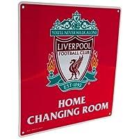 Liverpool Changing Room Schild (22cm x 25cm)-OS